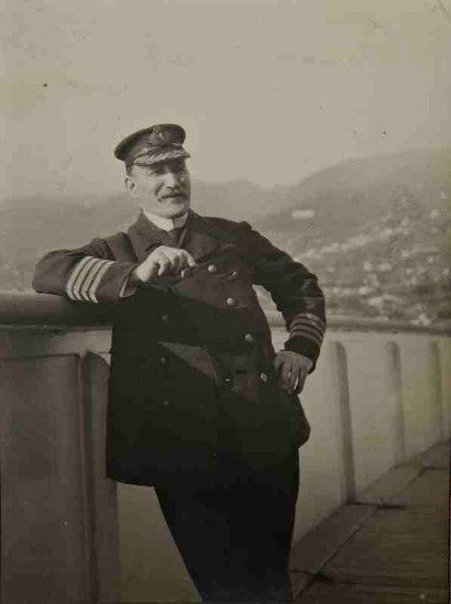 Captain W T Turner of the Lusitania