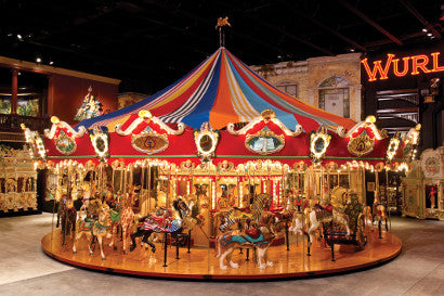 Carousel with Wurlitzer Organ