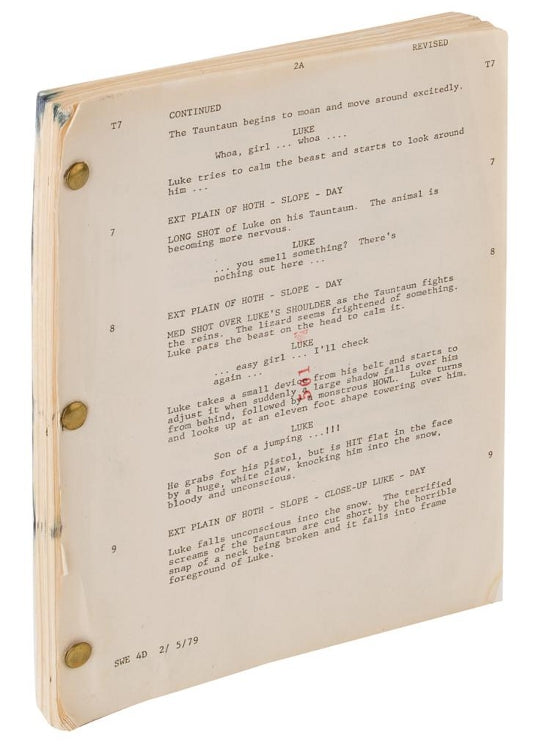 Carrie Fisher script