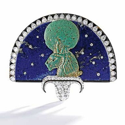 Cartier Egyptian brooch