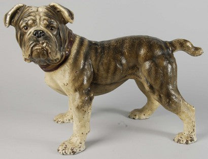 Cast iron English bulldog ornament