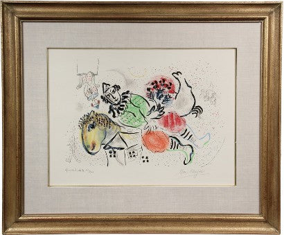 Marc Chagall lithograph artists proof