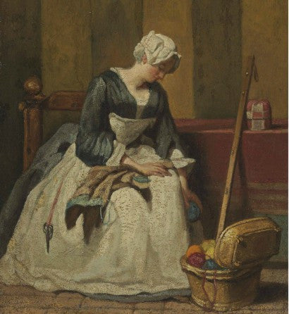 Chardin The Embroiderer