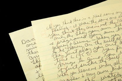 Charles Manson Kray Twins letters