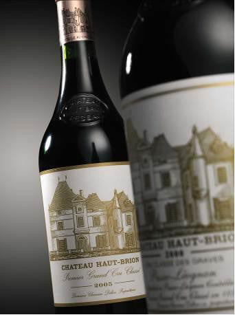 Chateau Haut Brion 2005 bottles