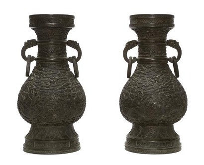 Chinese Imperial Bronze Vases