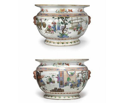 Chinese porcelain production fishbowls Christie's