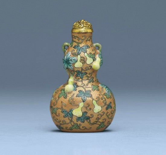 Chinese gourd snuff bottle