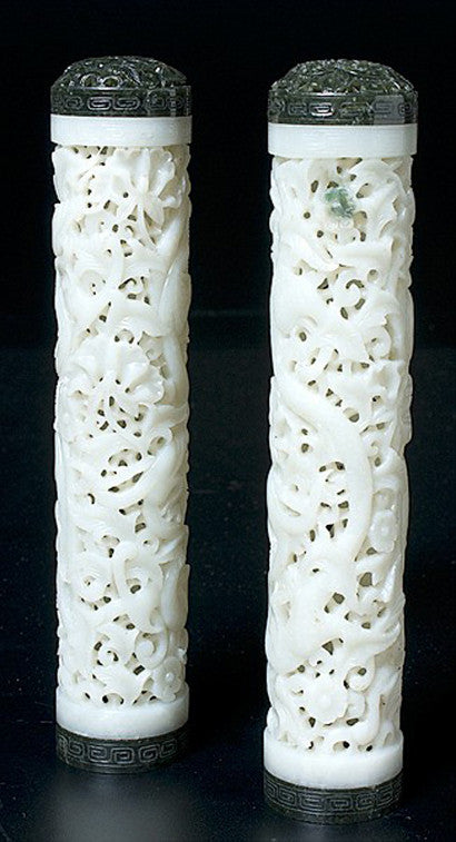 Chinese jade cricket cages