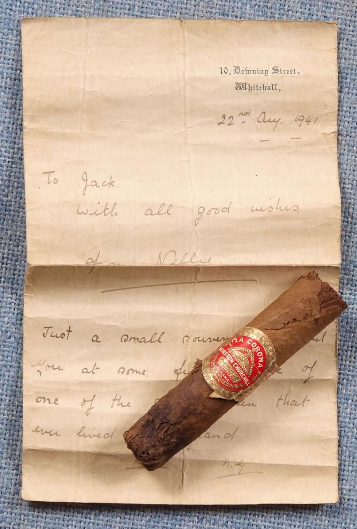 Winston Churchill's Half Smoked cigar