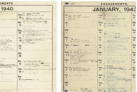 Winston Churchill's war diary
