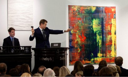 Eric Clapton Gerhard Richter record auction Sotheby's