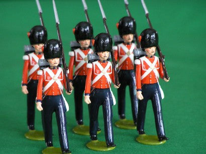 Collecting toy soldiers
