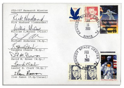 Columbia first day cover