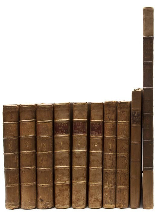 Collection of books relating to James Cook's exploration