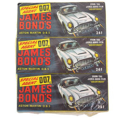 Corgi James Bond cars auction
