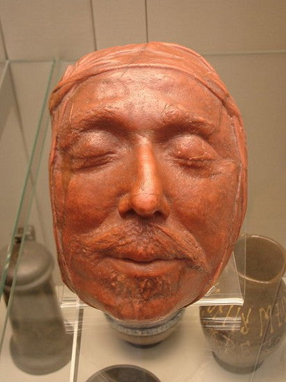 Oliver Cromwell Death Mask Napoleon