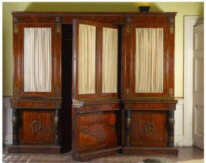 George IV Cupboard with secret passageway