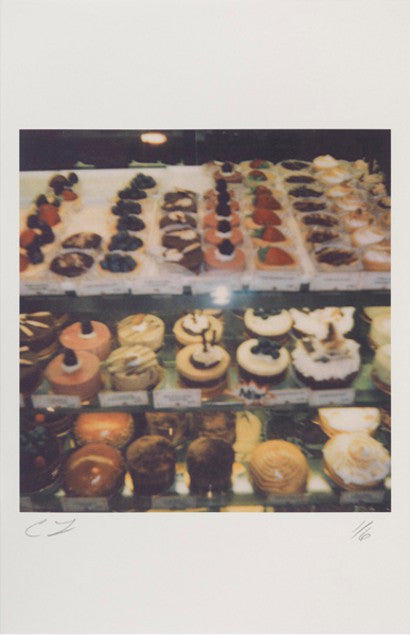 Cy Twombly cakes print