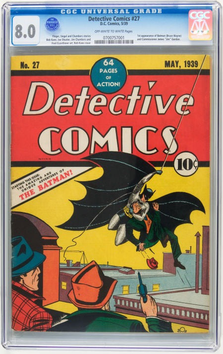 Detective Comics #27 Batman