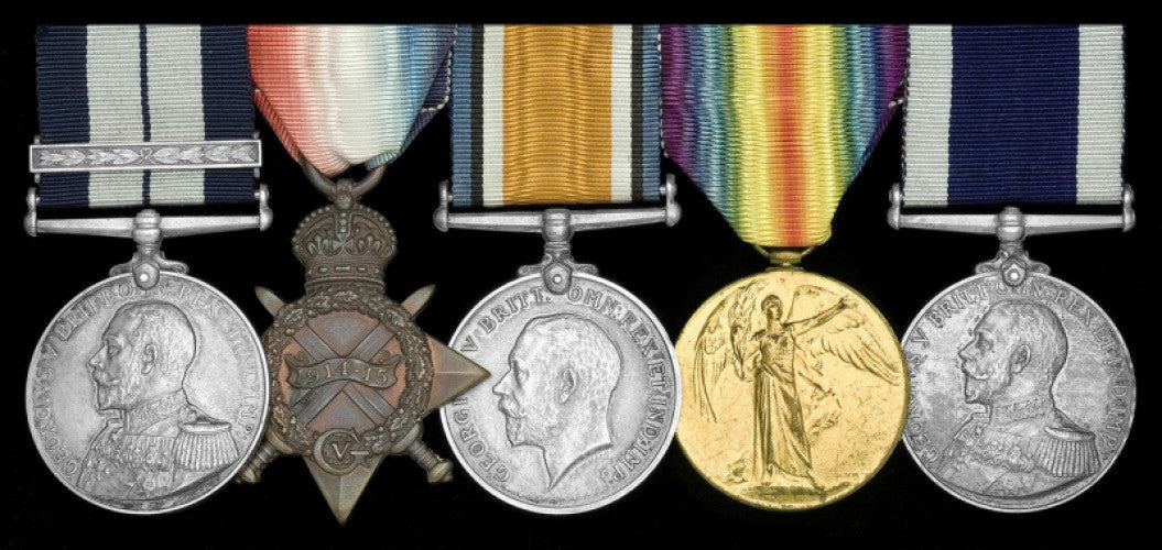 Distinguished Service Medal and Bar of Percival Ross
