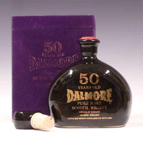 Dalmore 50 year old whisky