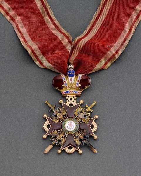 Order of St Stanislaus for the Tsar's dentist