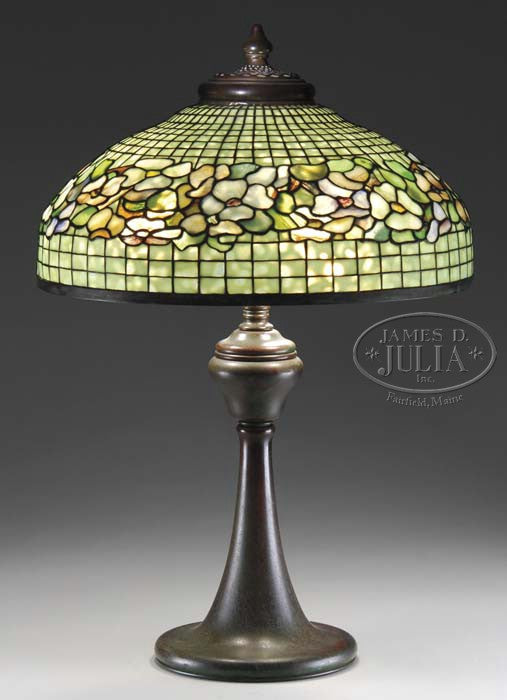 Tiffany Dogwood lamp