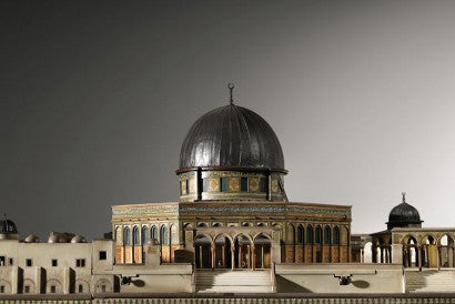 Dome of the Rock model Islam
