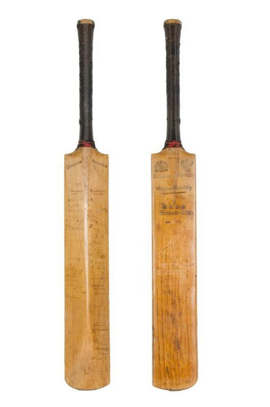 Don Bradman First Test Cricket Bat