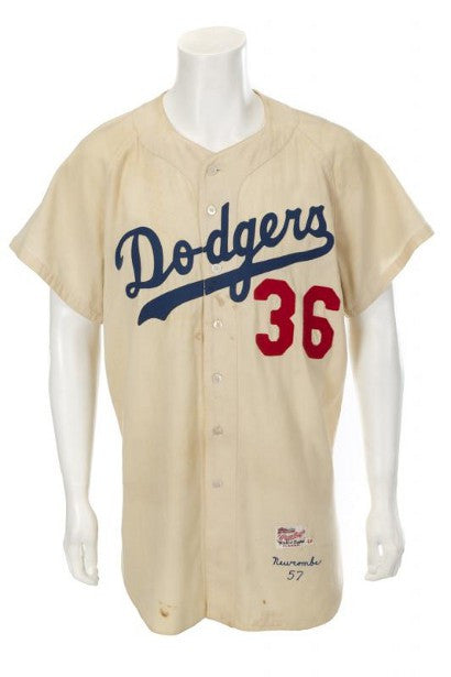 Don Newcombe dodgers jersey