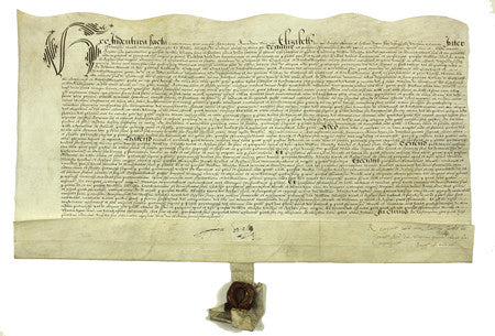 Sir Francis Drake Document
