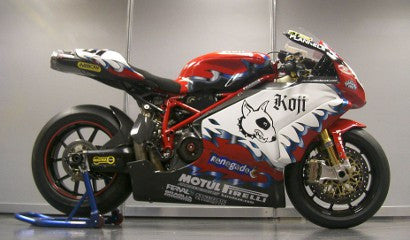 Ducati raced by Reuben Xaus in the 2003 Championship
