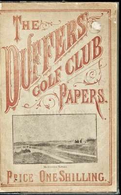 Duffers Golf Club Papers