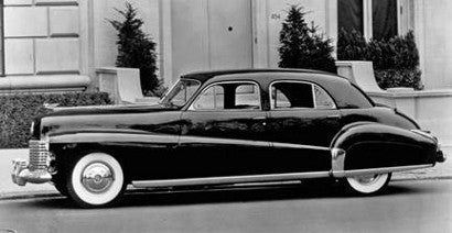 Duke Duchess Windsor Edward Wallis Simpson Cadillac car
