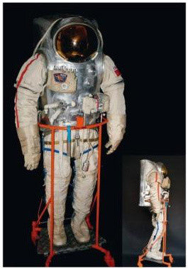 EVA Space Suit flown