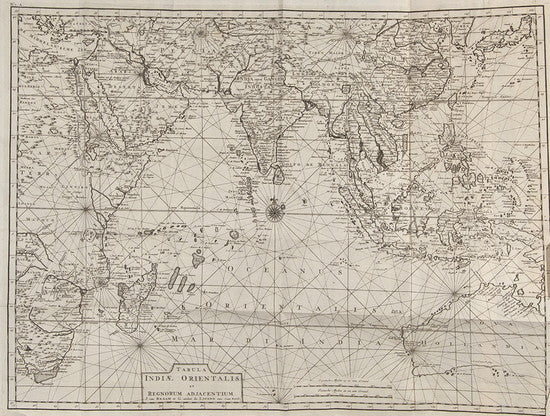 Early map of the East Indies