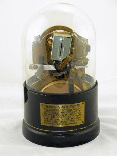 Thomas Edison Stock Ticker