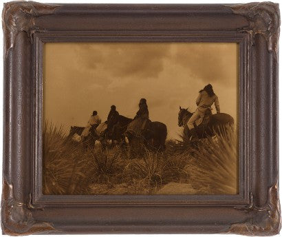 Edward S Curtis Before the Storm
