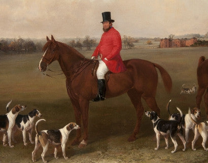 Edward Robert Smythe - The Suffolk Hunt