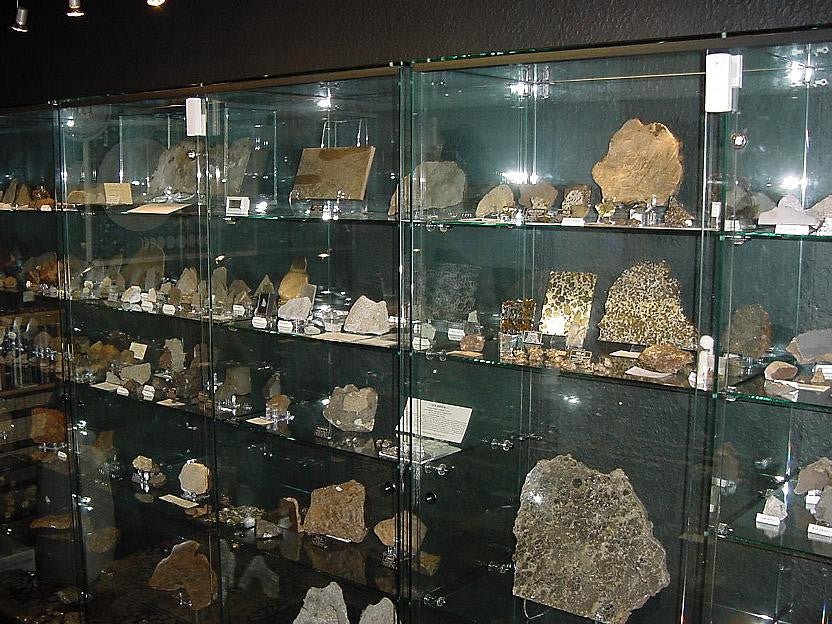 Rob Elliott's meteorite collection
