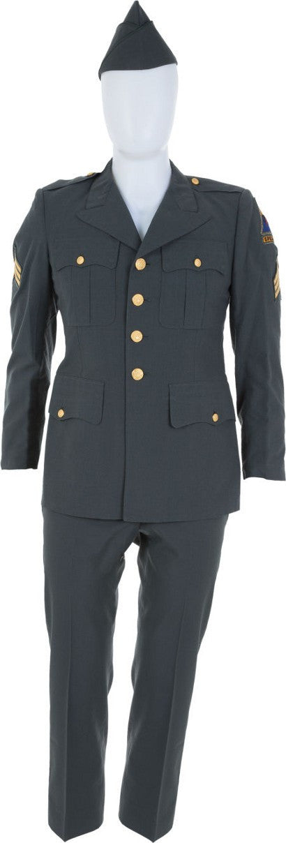 Elvis Presley army uniform