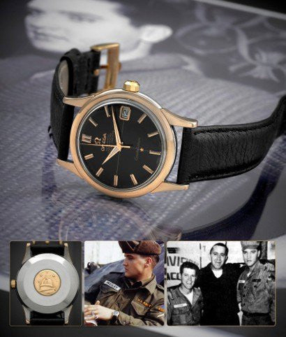 Elvis Presley Omega Watch
