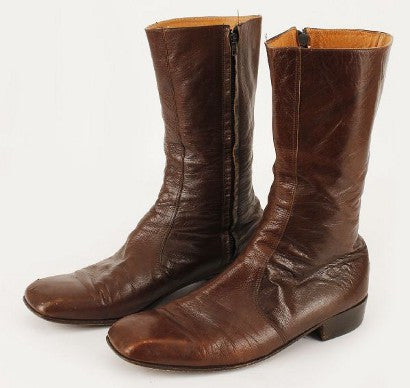 Elvis Presley worn boots LaGuardia auction