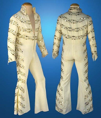 Elvis' iconic nail studded suit