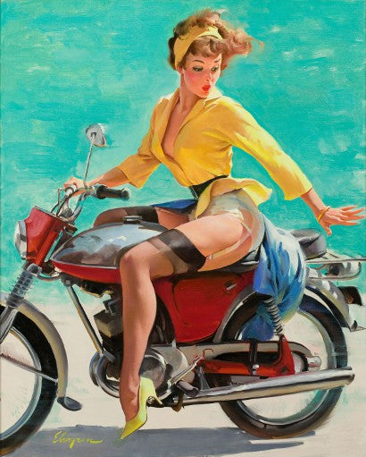 Gil Elvgren American Pin-Up Skirting the Issue Heritage