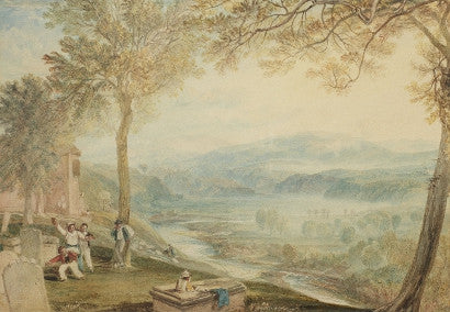 English landscape beside the River Lune by Joseph Mallord William Turner