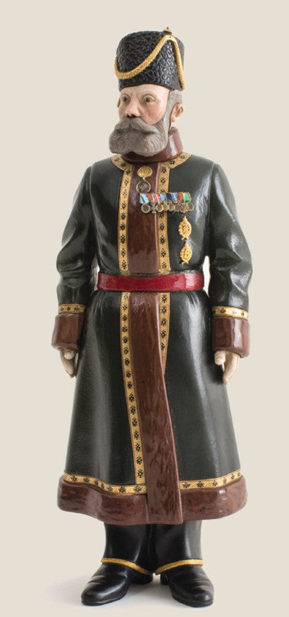 Faberge Guard figure Russian Imperial