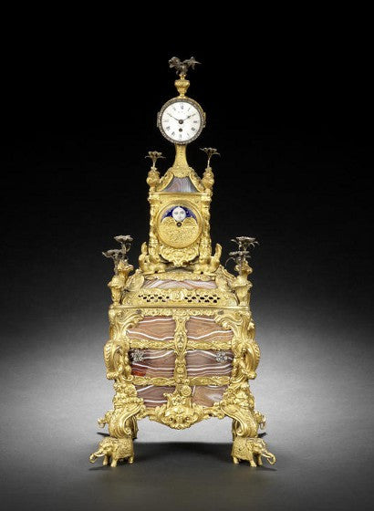 King Farouk's James Cox musical clock