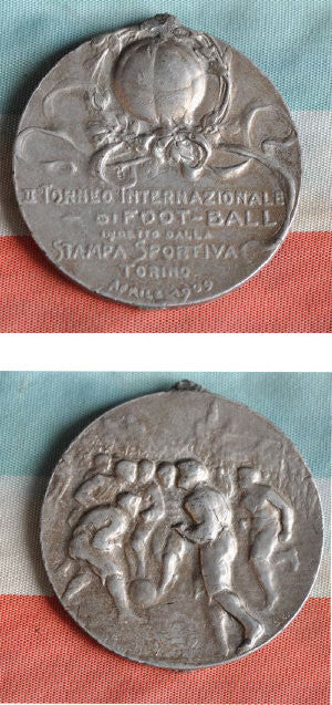 First World Cup football medal